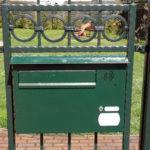 Briefkasten mit Wechselsprechanlage